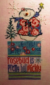 Rosebud May Snowman Sampler
