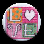Fridge Art Zappy Dot Stitch Dot Amy Bruecken Designs
