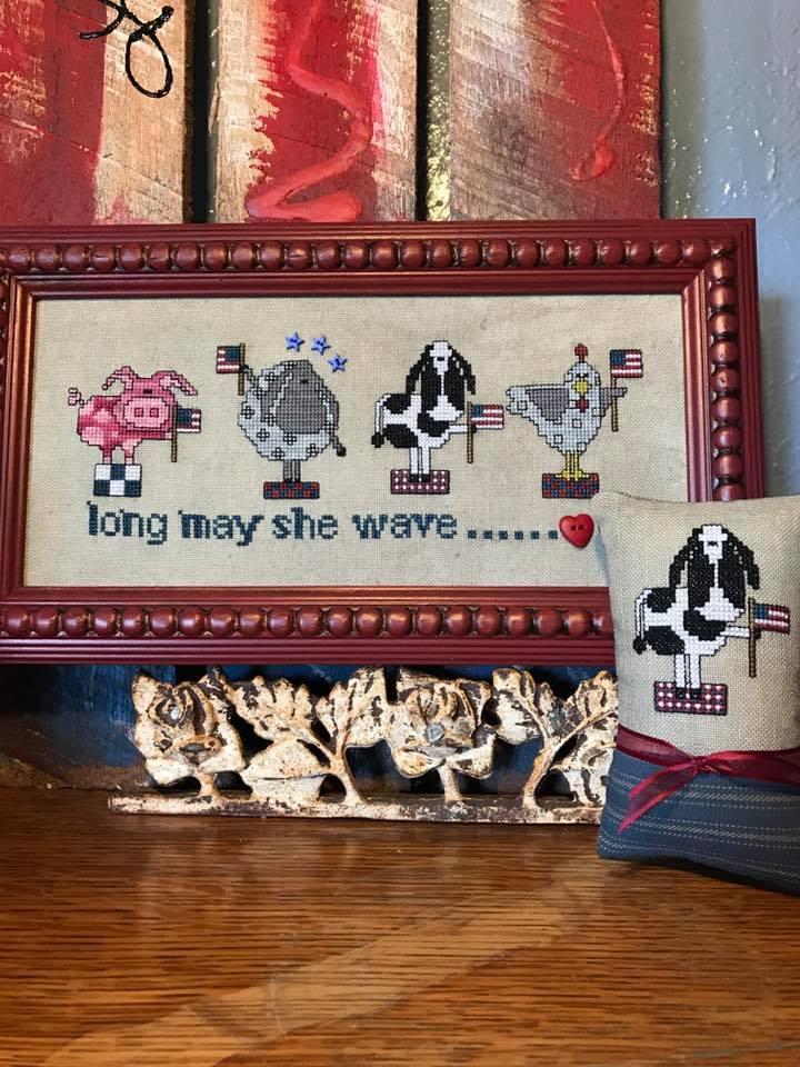 Amy Bruecken Designs Long May She Wave