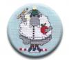 Amy Bruecken Designs Warm Wooly Welcome Part 4 September Sheep Zappy Dot
